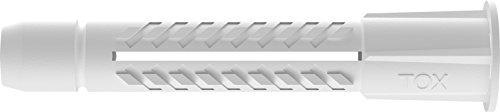 TOX Allzweckduebel Deco 6 x 41 mm Runddose, 100 Stueck, 016260041