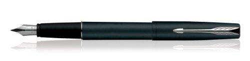 new-parker-frontier-stylo-plume-noir-mat-ct-joint-detancheite-lot