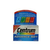 Centrum Advance 50+ Multivitamin and Mineral Tablets 30