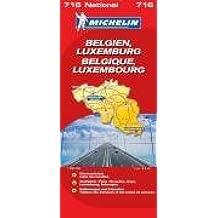 MICHELIN Nationalkarte Belgien