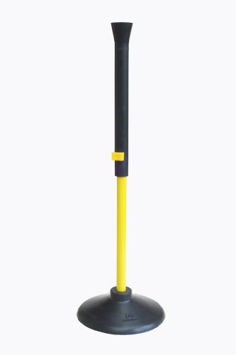 Aresson Kids Rounders Batting Tee and Base Set - Black/Yellow, 34 Inch Test