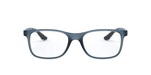 Ray-Ban Herren 0rx 8903 5262 53 Brillengestell, Blau (Matte Blue)