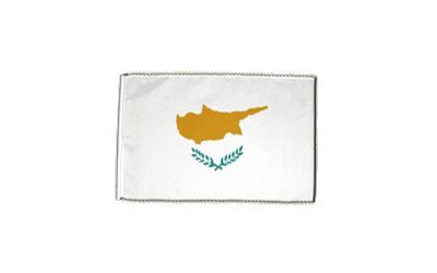 Preisvergleich Produktbild Fahne Flagge Zypern 30 x45 cm
