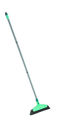 Leifheit 45066 Mousse Balai Classic avec Manche démontable, Acier, Vert, 125 x 34,5 x 5 cm