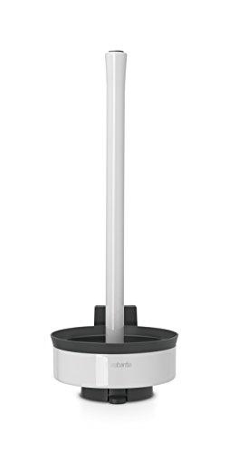Brabantia 483448 - Dispensador de 3 Rollos de Papel para WC, Color Blanco Puro