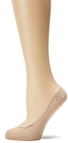 OLYMPIA Duo Protege Pieds Socquettes, Beige (Peau Gx8), 36/41 (Taille Fabricant:39/41) (Lot de 2) Femme