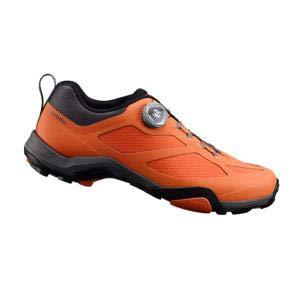 SHIMANO shmt7pc440sr00–Scarpe da Ciclismo, 44, Arancione, Uomo