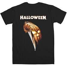 (Halloween T-Shirt Michael Meyers Knife Größe XXL horror movie artwork)