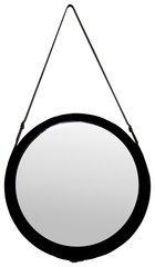 "G&C Design SP006/6060 Mirror ""Leather Look"", 60 x 60 x 60 cm, braun"