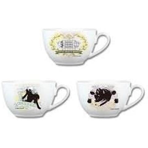Super Dangan Ronpa 2Sayonara despair Gakuen–Lucky lotería ~ D Premio taza de té los tres conjuntos de ultra-alta Clase de Escuela