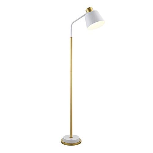 GL Stehleuchte Stehleuchte LED Moderne vertikale Wohnzimmer Schlafzimmer Studie Einfache Fernbedienung Dimmen Lesen Stehleuchte (Farbe : B-remote Control Switch) -