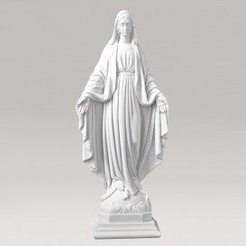 Segnende Madonna Marmorguss Figur - Madonna Specia