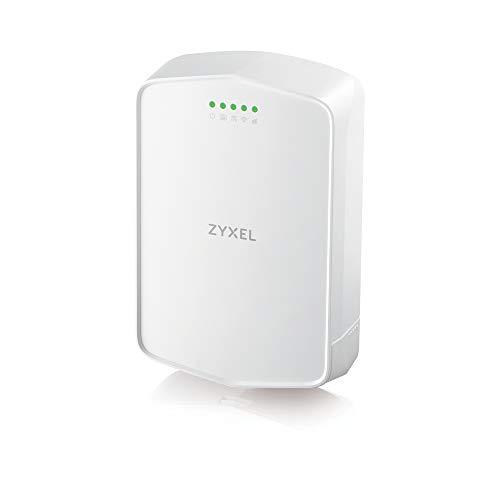 Zyxel 4G LTE-Outdoor Router mit SIM-Slot ohne SIM-Lock, 150 Mbit/s LTE-A, keine Konfiguration erforderlich, IP56 [LTE7240]