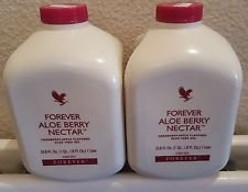 2-x-1-litre-new-sealed-forever-aloe-vera-nectar-berry-drink-gel
