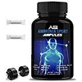 AmmoniaSport Athletic Smelling Salts - Ampullen (20) - Ammoniak Inhalationsmittel - [Riechsalz/Ammoniak Inhalationsmittel] Al Carbonato di Ammonio