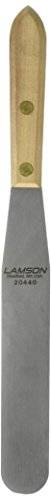 Lamson Trade Tools Spachtel, Edelstahl, Griff aus Walnuss, 20440 - Lamson 8 Zoll