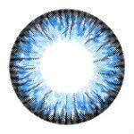 Kontaktlinsen de Farbe Fantaisie Jährlichen gültig 1 Jahr ohne Stärke NEU blau für die Augen dunkle auch Colors of the Wind crystal water(cow26)