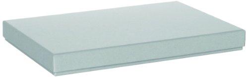Rössler Papier 1352453170 Boîte en carton Boxle pour documents A4 (gris)