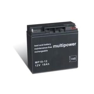 Original Bleiakku für MULTIPOWER MP18-12