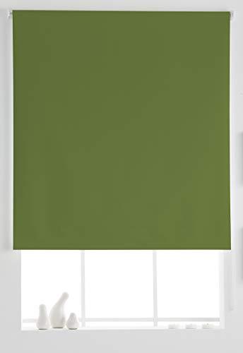 Estoralis Aral Estor Enrollable Liso, Verde, 150x175 cm