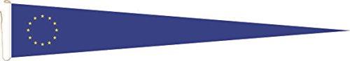 U24 Langwimpel Europa Fahne Flagge Wimpel 150 x 40 cm Premiumqualität