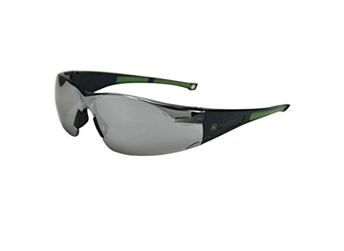John Deere JD209-SM - Silber verspiegelte Sonnebrille Schutzbrille