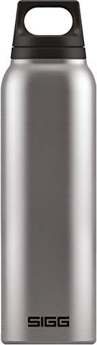 SIGG Hot & Cold Brushed Thermo Trinkflasche (0.5 L), schadstofffreie und vakuumisolierte Trinkflasche, auslaufsichere Thermo-Flasche aus Edelstahl