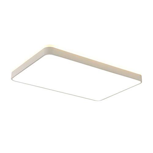 Lampe Modern LED Deckenleuchte, Flush-Panel Schlafzimmer Essen Zimmer Beleuchtungskörper, Oberflächenmontage (Color : 32W, Size : 40x40x6.5cm) -