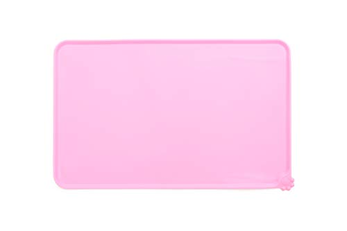 Alfombrilla silicona impermeable ideal cuenco mascotas