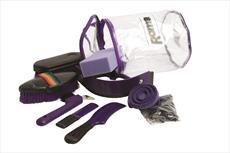 Roma Putzset Radzylinder Violett violett Einheitsgröße