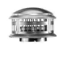 Gas Vent (Aluminum DuraCap - 6 inch by Round Gas Vent)