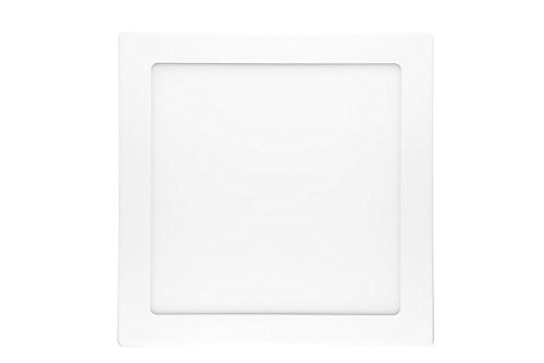 NuLoXx LED Panel Square Surface mounted (Aufputzmontage) 18W/740 4000K neutralweiß 1300LM AC 80…260V, 120° Abstrahlwinkel, Deckenleuchte ersetzt 40 Watt, Herstellergarantie: 2 JAHRE!!