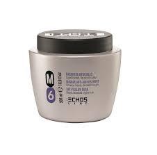 Scheda dettagliata Maschera Antigiallo M6 - Per Capelli Biondi, Decolorati o Grigi 1000 ml - Echosline