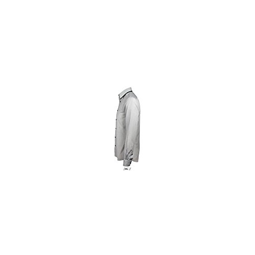 SOL´S -  Camicia classiche  - Uomo White Striped