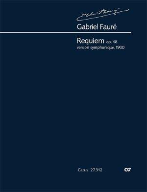 Fauré: Requiem. Partitur