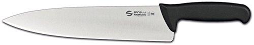 Sanelli ambrogio supra trinciante cuoco, acciaio inox, grigio, 28 cm