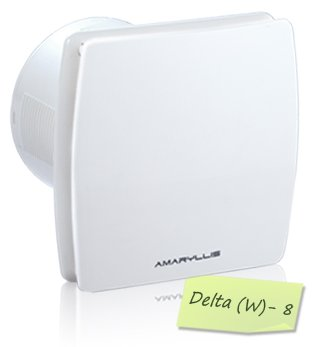 Amaryllis Multipurpose Fans 8 Inch Delta(w)-8 White/Ivory.