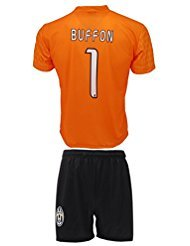 Kit Complete T-Shirt Jersey Futbol Juventus Gianluigi Buffon 1 Replica Authorized Adult Child