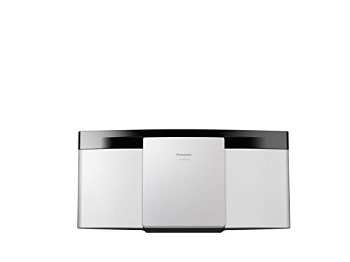 Oferta de Panasonic SC-HC200EG-W Home Audio Micro System 20W - Microcadena Compacta (1 Discos, 20 W, De 1 vía, FM, Bluetooth, Amplificador Digital Dos Canales, Hi Fi, Sonido Nítido), Color Blanco