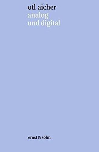 analog und digital: schriften zur philosophie des machens Buch-Cover