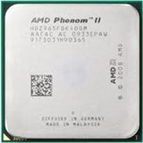 #1: AMD Phenom II X4 965 3.40 GHz Processor - Socket AM3 PGA-938 - Quad-core - 6 MB Cache - x Tray Pack