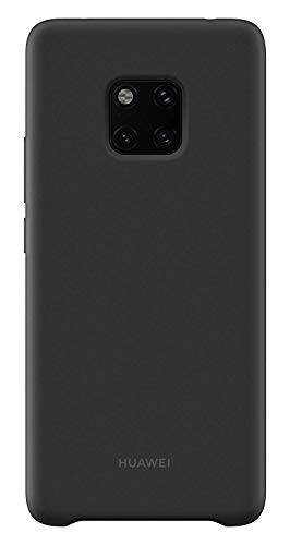 Huawei 51992668 Silicone Case, passend für Mate 20 Pro, Black