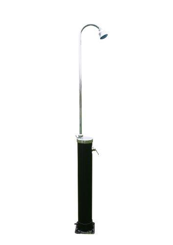 Steinbach Solardusche Speedshower LED Alu mit LED Duschkopf, Mehrfarbig, 200 cm