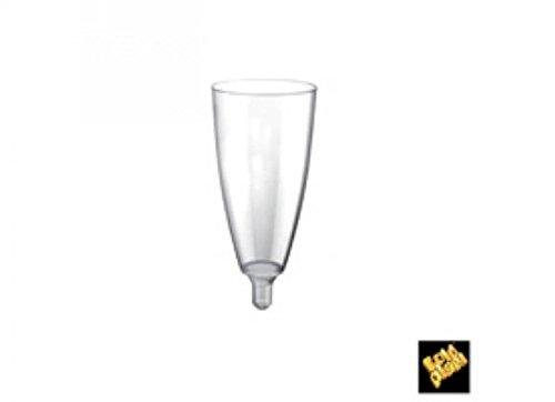 20 pièces GOLD PLAST flûtes en verre Goblet Cuisine: vaisselle et accessoires