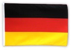 Fahne Flagge Deutschland 60 x 90 cm mit 2 Ösen (Stab 60)
