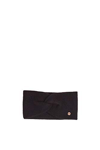 edc by Esprit Accessoires Damen 109CA1P007 Strickmütze, Schwarz (Black 001), One Size (Herstellergröße: 1SIZE)