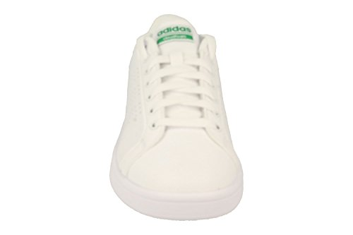 adidas Herren Cloudfoam Advantage Clean Sneaker Weiß