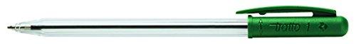 Preisvergleich Produktbild TRATTO 820504Kugelschreiber, 50Stück, grün
