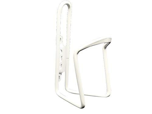 Jabs - portabottiglie in alluminio per bici da corsa, bianco, universale