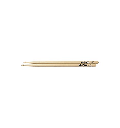 Nova Drum Sticks 2B, Wood Tip